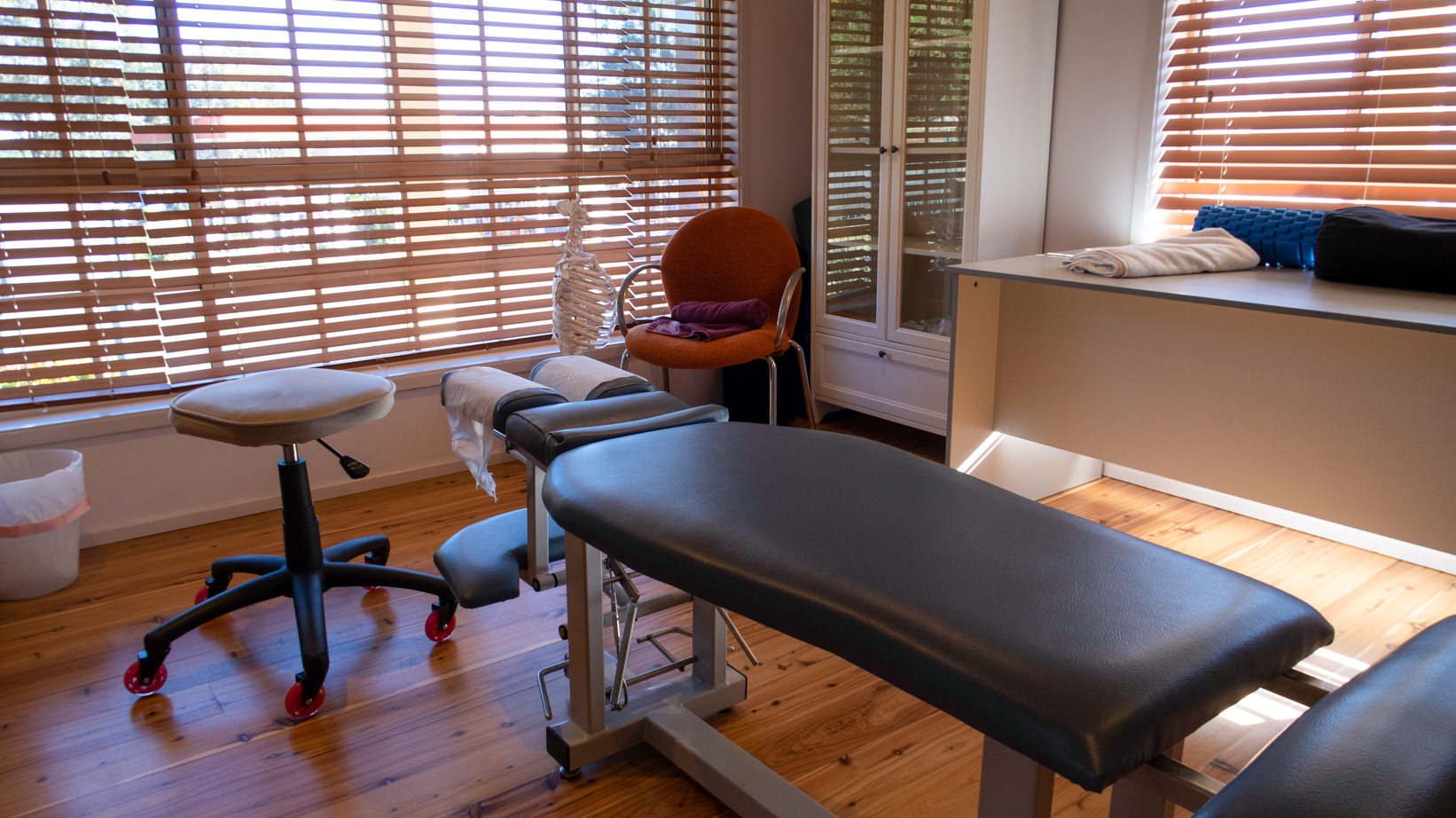Tuggerah chiropractic treatment room